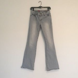 Guess Stretch Denim pin stripe jeans.